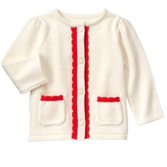68d616888301 New gymboree baby girl sweater cardigan 12-18 m NWT